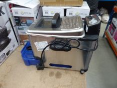 Unboxed Tefal filter fryer