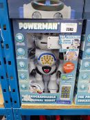 8 boxed PowerMax educational robots
