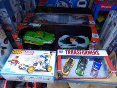 AirPower engine car, Transformer car set, 3 Road Ripper sets, etc
