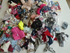 Half a stillage of mixed children's clothing ages 4 and under