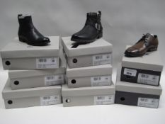 8 boxed pairs of shoes incl. 6 ladies boots by Chloe Sinclair in sizes ranging from 36 - 41 and 2