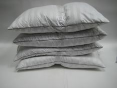 4 feather and down pillows