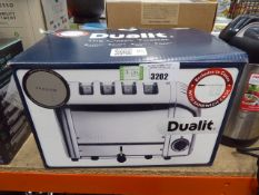 (TN41) Boxed Dualit classic toaster