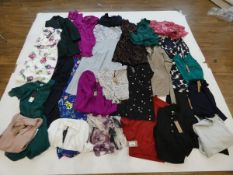 Selection of Phase Eight clothing to include dresses, tops, coats, etc in various sizes