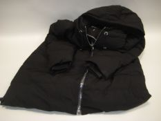 Ladies DKNY XL coat with hood