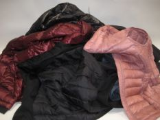 6 various ladies coats and gilets by Andrew Marc and 32 Degree Heat in various sizes and colours