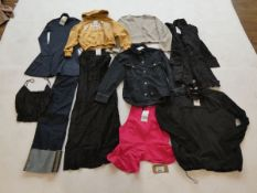 Selection of Zara clothing to include dresses, jeans, tops, etc in various sizes