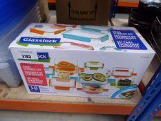 Boxed Glasslock Premium food storage set