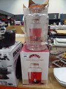 3258 - 4 boxed Kilner glass drinks dispensers