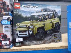Boxed Lego Technic Land Rover Defender set