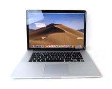 MacBook Pro 15'' with 2.2GHz Core i7, 16GB RAM, 256GB SSD laptop (A1398 2014)
