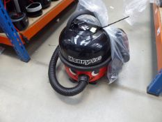 (TN105) Henry micro vacuum cleaner with pole and a small bag of accessories Condition report: Some