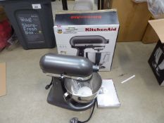 (TN118) Boxed Kitchenaid 4.3 litre mixer Condition report: Opened box, appears little or not use
