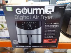 (TN97) Boxed Gourmia digital air fryer