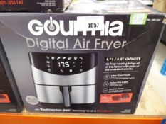 (TN126) Boxed Gourmia digital air fryer