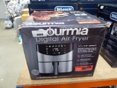 Boxed Gourmia digital air fryer