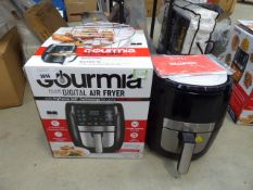 (TN58) Boxed Gourmia digital air fryer