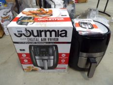 (TN7) Boxed Gourmia digital air fryer