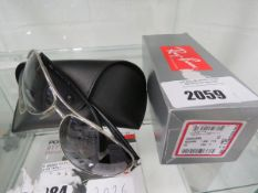 Ray Ban sunglasses model RB3386 with carry case and box