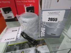Sony wireless speaker model SRS-XB12 with box