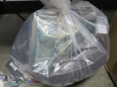 Bag of mixed electrical cabling and accessories