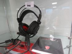 MSI DS502 gaming headset for PC