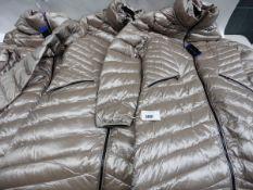 Three ladies full zip hood Andrew Mark coats sizes L