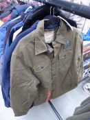 2 Men's Jack's New York jackets size M and XXL