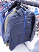 Full zip Columbia gents fleece size XL plus a full zip hooded jacket size XXL