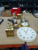 13 quartz clocks