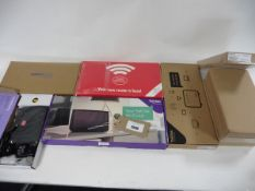 A bag of 9 assorted routers inc 4 2704N Plusnet, Talk Talk, Post Office & Direct Save