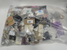 Bag containing quantity of costume and dress jewellery