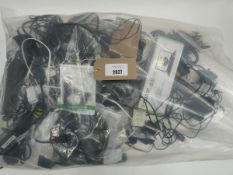 Bag of various electrical cabling