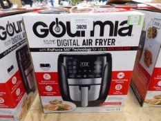 (TN24) Boxed Gourmet 5.7 litre digital air fryer