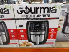 (TN26) Boxed Gourmet 5.7 litre digital air fryer Clean with little use