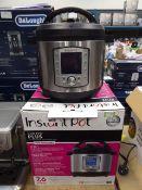 (TN58) Boxed Instant Pot Duo Evo Plus multi use pressure cooker