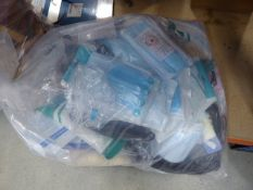 3093 - Bag containing a large quantity of various face masks