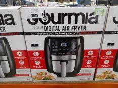 (TN25) Boxed Gourmet 5.7 litre digital air fryer