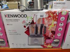 (TN39) Kenwood Multi Pro Compact Plus food processor with box