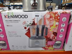 (TN30) Kenwood Multi Pro Compact Plus food processor with box