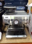 3123 - Unboxed Sage Barista Express coffee machine (no accessories, missing drainer grill)