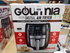 (TN14) Boxed Gourmet 5.7 litre digital air fryer