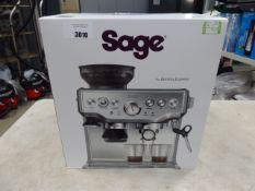 (TN10) Boxed Sage Barista Express coffee machine