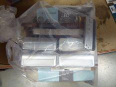 Bag containing mixed lighting, LED lighting, etc