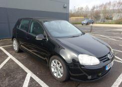 Volkswagen Golf GT TDI, 5 Door Hatchback, 2.0l Diesel, Black, MOT 05.07.21, First registered 10.06.