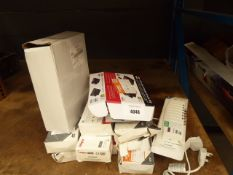 Quantity of lab gear signal and reception distribution packs, HDMI extendor and other aerial