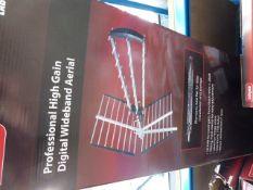 5 lab gear professional high gain digital wide band aerials