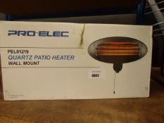 Pro elec boxed quartz patio heater