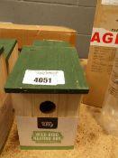 2 Wild bird nesting boxes