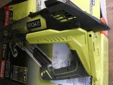 Ryobi boxed 18 volt blow vac no battery, no charger